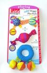 Petstages Набор игрушек для собак мелких пород Текстильные