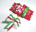 Lukky Бантик для собак на латексной резинке, Рождество, 2шт в уп.