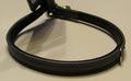 Hunter Ошейник для собак мелких пород, натуральная кожа, размер 22,5 - 26,5 х 0,8 см