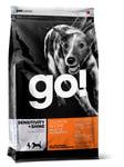 Petcurian Pet Nutrition Go! Natural Для щенков и собак с Лососем и овсянкой, сух.