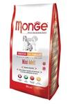 MONGE Dog Mini корм для взрослых собак мелких пород, сух.