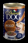 MONGE Special Dog консервы для собак кусочки курицы 400 г