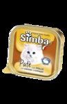 MONGE Simba Cat консервы для кошек паштет курица 100 г