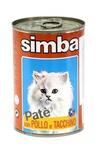MONGE Simba Cat консервы для кошек паштет курица и индейкой 400 г