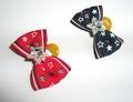 Lukky Бантик для собак на латексной резинке, красный и синий, 2шт. в упаковке