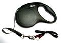 Flexi Рулетка New Classic Mini (до 12 кг) 3 м лента черная