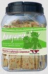 Green Qzin Лакомство для собак Иммунитет 3 ризотто с зубаткой и морковью 750г