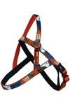 """Papillon Нейлоновая шлейка """"Рок-н-ролл"""" 15мм-54-60см, оранжевый (Nylon harness, X-TRM Rock-N-Roll, colour orange)"""