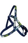 """Papillon Нейлоновая шлейка """"Рок-н-ролл"""", синий (Nylon harness, X-TRM Rock-N-Roll, colour blue)"""