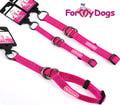 ForMyDogs Ошейник-удавка для собак, размер S (1,5см х 22-32см), цвет фиолетовый