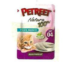 PETREET Пауч для кошек Белая рыба 85 г.