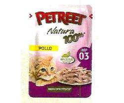 PETREET Пауч для кошек Курица 85 г.