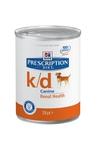HILL'S Консервы PD Canine k/d для собак, лечение заболеваний почек, конс.370 гр, 6шт.