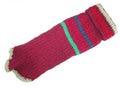 Fluk Свитер вязаный бордо/цветная полоска, спина 33-40см, грудь 28-48см.