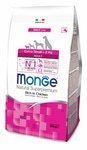 MONGE Dog Extra Small корм для взрослых собак миниатюрных пород с курицей 800 г