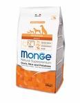 MONGE Dog Speciality корм для собак всех пород утка с рисом и картофелем 2,5 кг