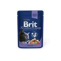 Brit Care Premium пауч для кошек Треска 100г х24шт